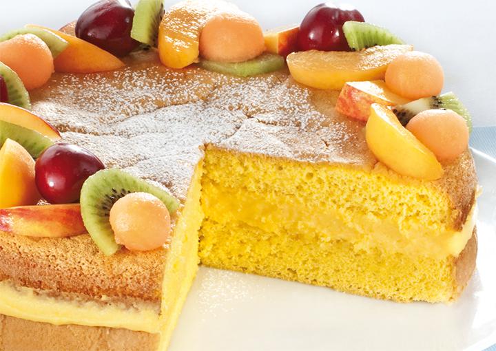 Ricetta Pan di Spagna Farcito con Crema - Granarolo