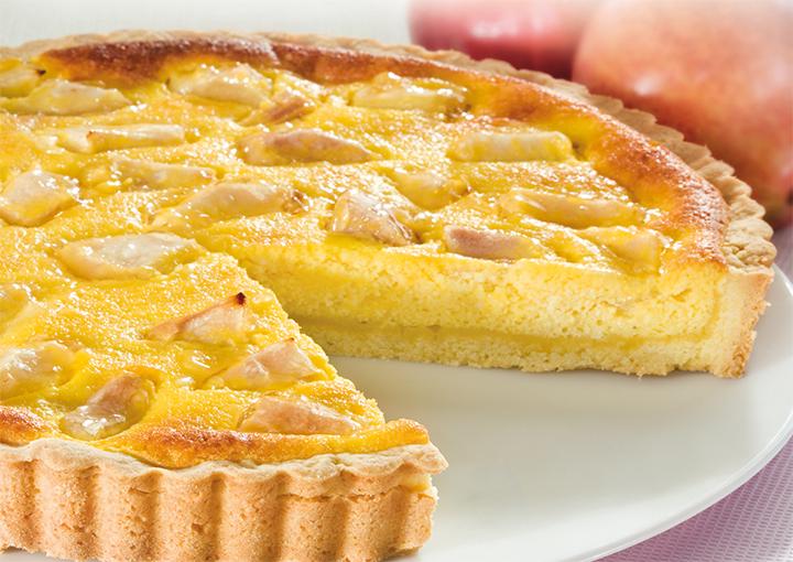 Ricetta crostata di crema e ricotta