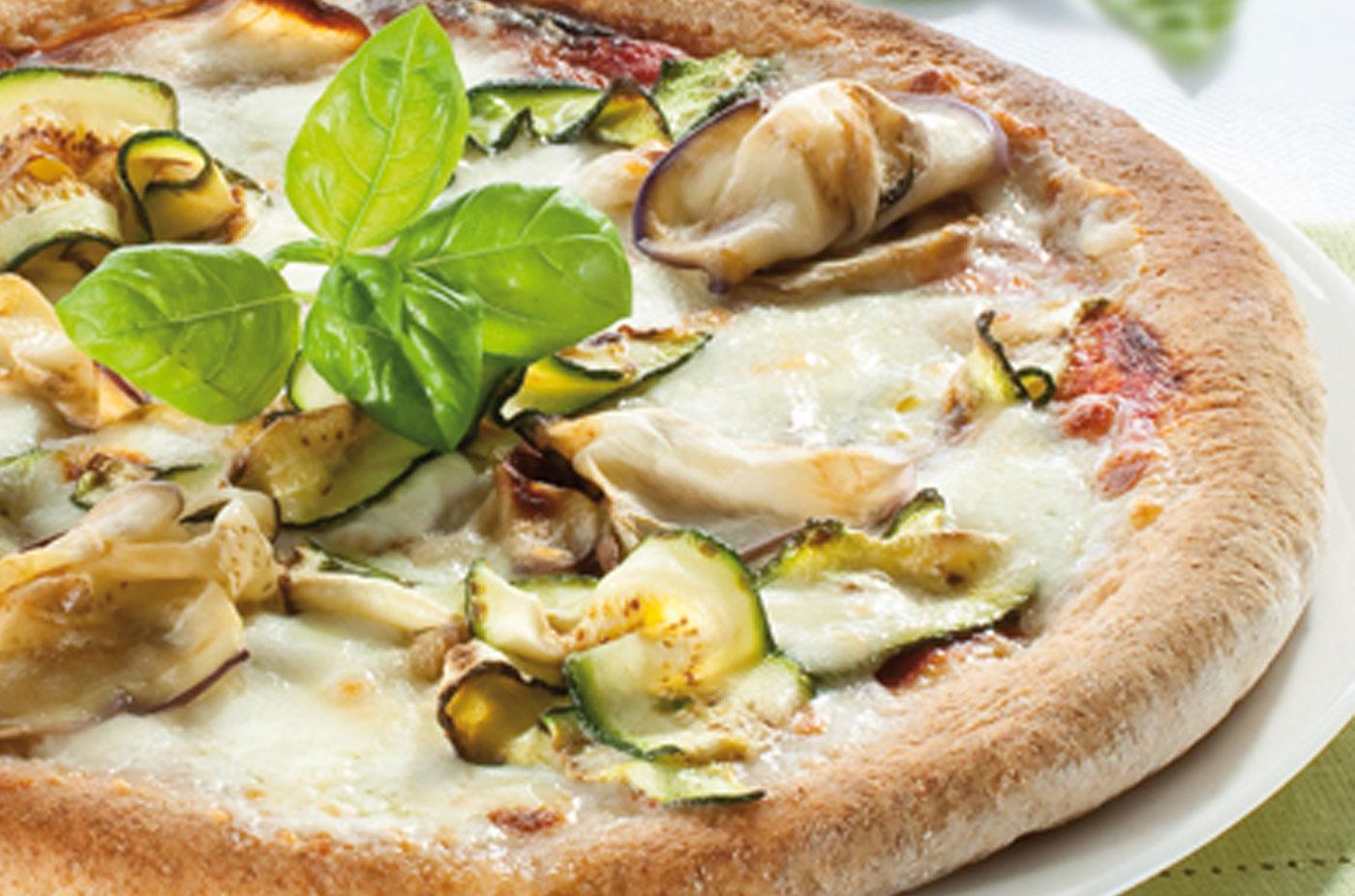 Ricetta Pizza Ortolana.Ricetta Pizza Ortolana Con Mozzarella Granarolo