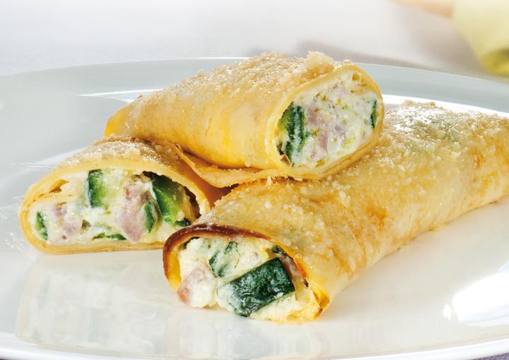 Ricetta crepes salate vegetariane